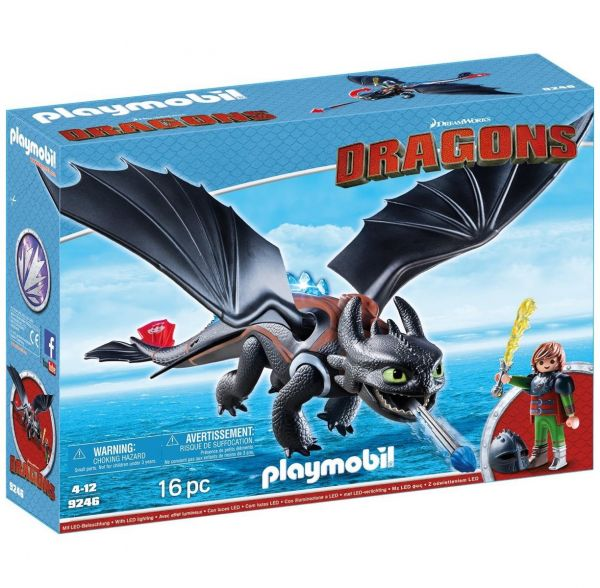 PLAYMOBIL 9246 - Dragons - Hicks und Ohnezahn
