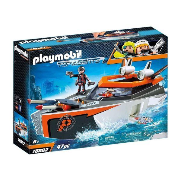 PLAYMOBIL 70002 - Top-Agents - SPY TEAM Turboship