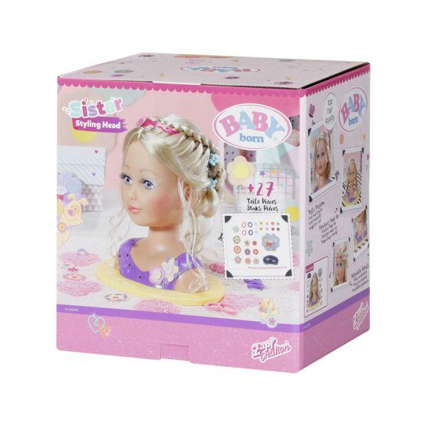 Zapf Creation 825990 - BABY born® - Sister Styling Head