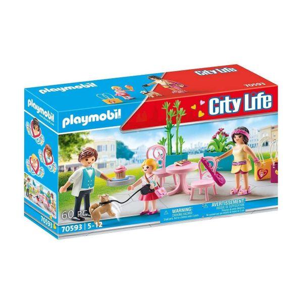 PLAYMOBIL 70593 - City Life - Kaffeepause