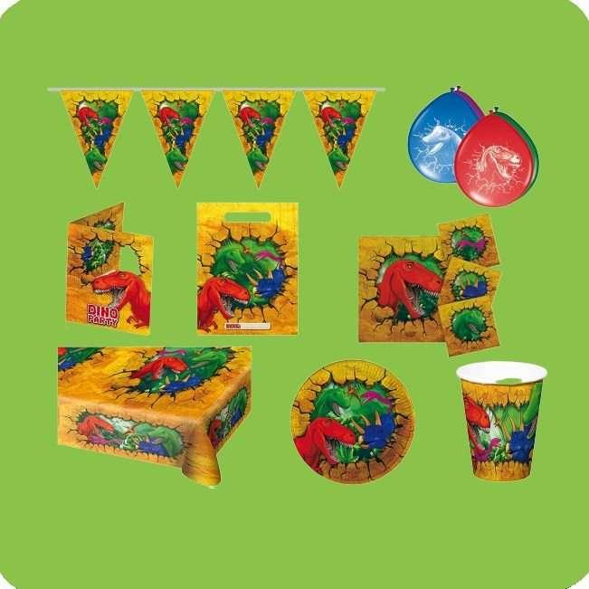 Kindergeburtstag Partydeko Dinosaurier bei Spielzeugwelten