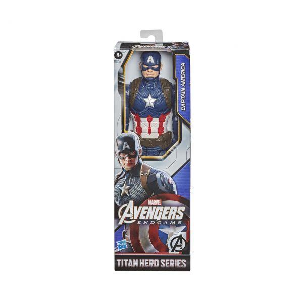 HASBRO F1342 - Marvel Avengers Endgame - Titan Hero, CAPTAIN AMERICA