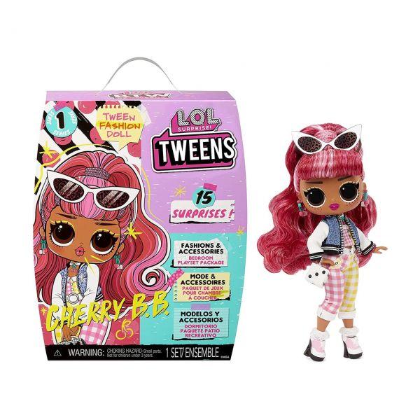 MGA 576709E7C - L.O.L. Surprise - Tweens Doll, CHERRY B.B., 15cm