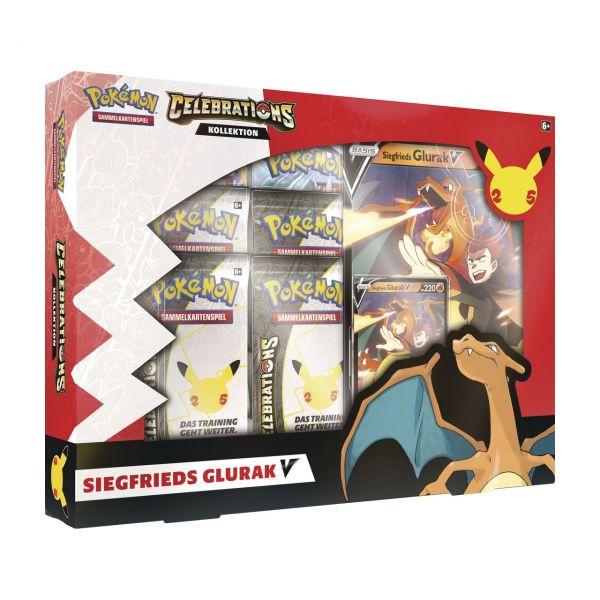 POKÉMON 45330 - 25th Anniversary Celebrations - V-Box, SIEGFRIEDS GLURAK-V