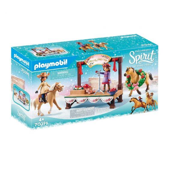 PLAYMOBIL 70396 - Spirit Riding Free - Weihnachtskonzert