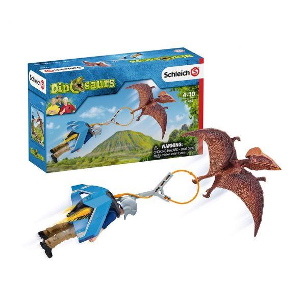 SCHLEICH 41467 - Dinosaurs - Jetpack Verfolgung