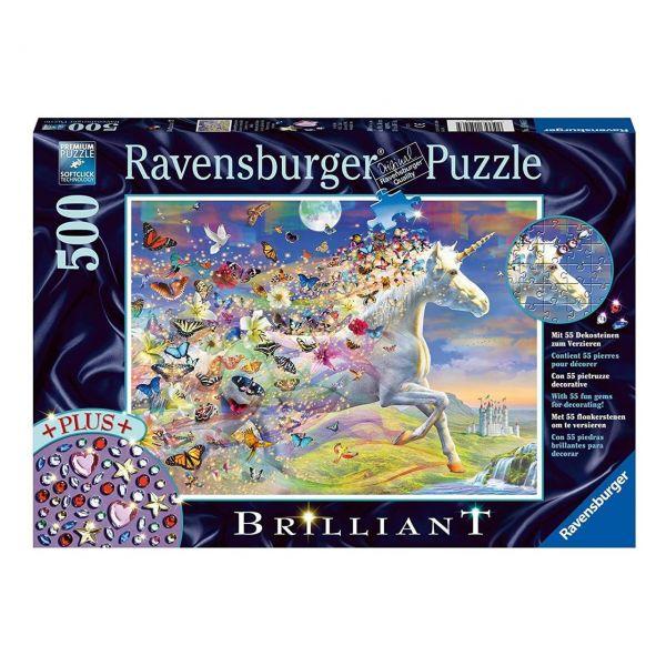 RAVENSBURGER 15046 - Puzzle - Star Line, Schmetterlingseinhorn, 500 Teile
