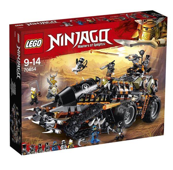 LEGO 70654 - Ninjago - Drachen-Fänger