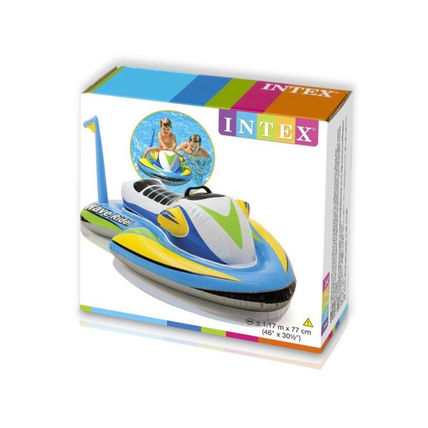 INTEX 57520NP - Aufblasbarer Jetski - Wave Rider Ride-On, 117x77 cm