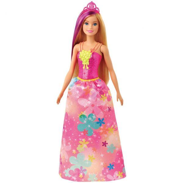 MATTEL GJK13 - Barbie Dreamtopia - Prinzessinnen-Puppe, blond- und lilafarbenes Haar