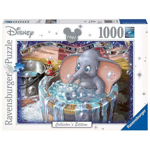 RAVENSBURGER 19676 - Puzzle - Disney Dumbo, 1000 Teile