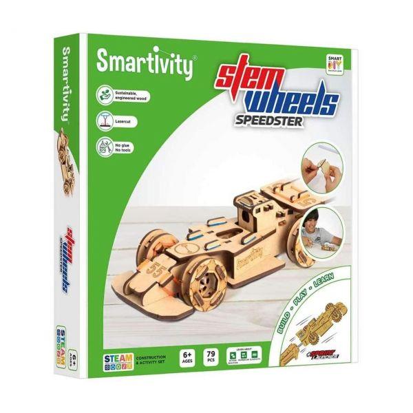 SMARTIVITY 001 - Konstruktionsspielzeug - Speedster, 79 Teile