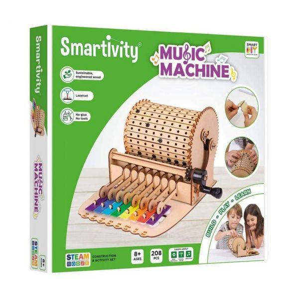 SMARTIVITY 301 - Konstruktionsspielzeug - Music Machine, 208 Teile