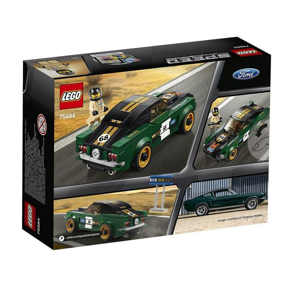 LEGO 75884 - Speed Champions - 1968 Ford Mustang Fastback