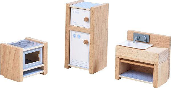 HABA 303838 - Little Friends - Puppenhaus Möbel, Küche