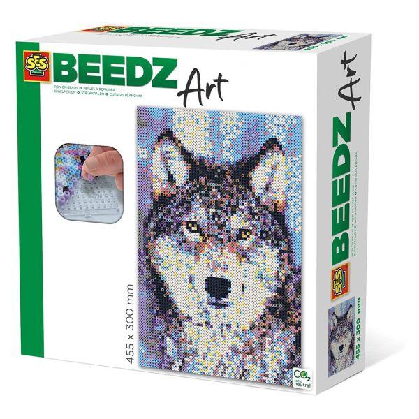 SES 06001 - Beedz Bügelperlen-Sets - Wolf