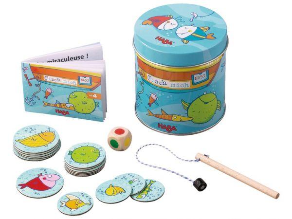 HABA - 2538 - Dosenspiel Fisch mich!