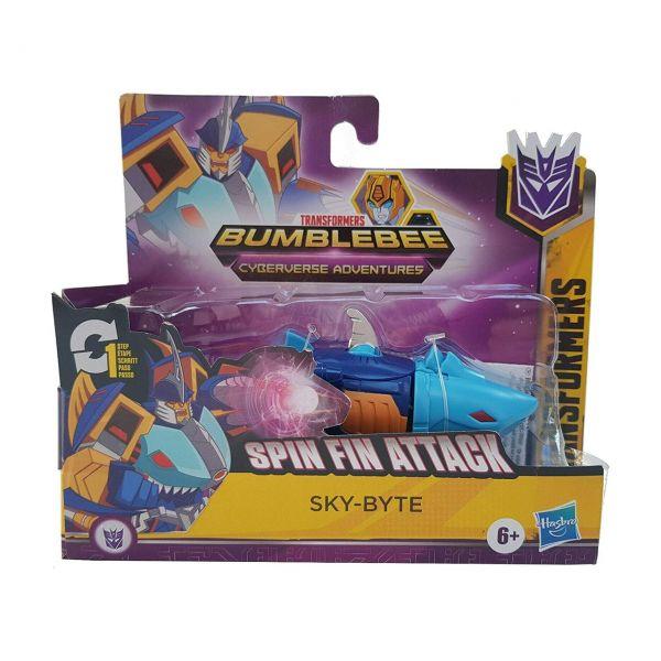 HASBRO E4792 - Transformers Cyberverse - 1-Step Changer, SKY-BYTE