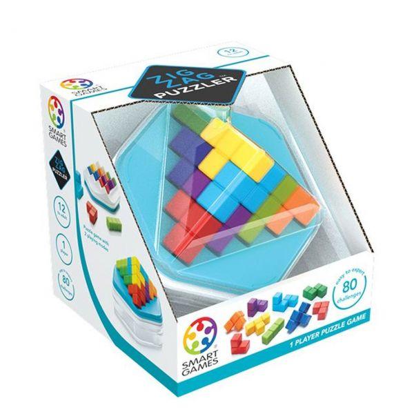 SMART GAMES 414 - Kompaktspiele - Zig Zag Puzzler