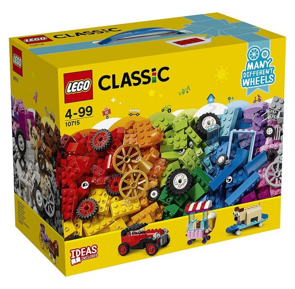 LEGO 10715 - Classic - Kreativ-Bauset Fahrzeuge