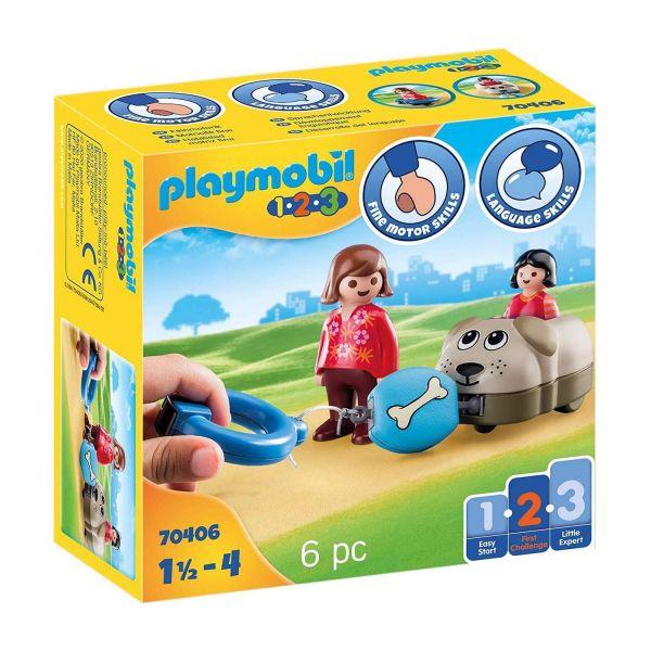 PLAYMOBIL 70406 - 1.2.3 - Mein Schiebehund