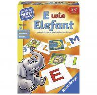 RAVENSBURGER 24951 - Spielend neues Lernen - E wie Elefant
