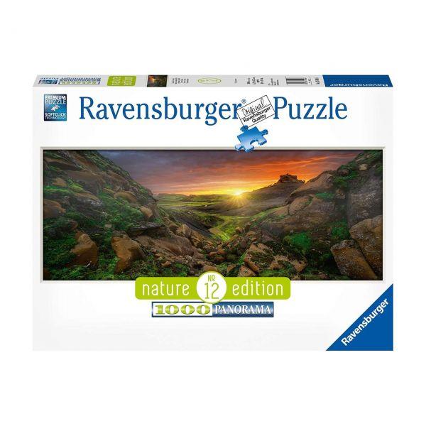 RAVENSBURGER 15094 - Puzzle - Sonne über Island, 1000 Teile