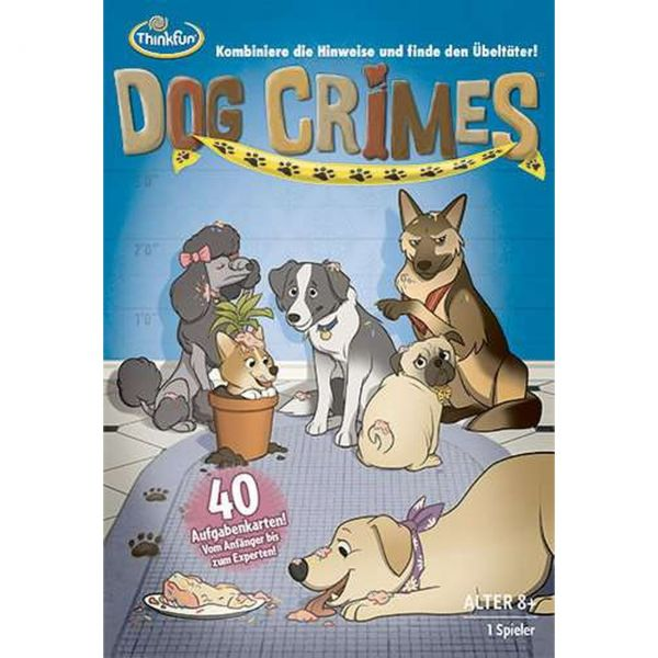 ThinkFun 76413 - Kinderspiel - Dog Crimes