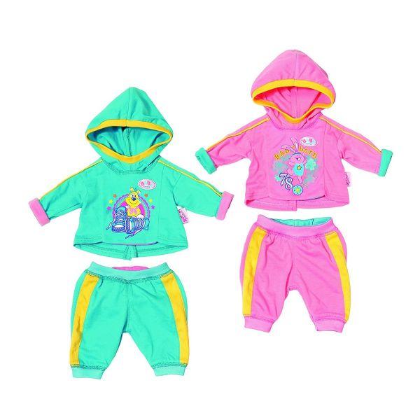 Zapf Creation 823774 - BABY born® Bekleidung - Jogginganzüge, zufällige Auswahl