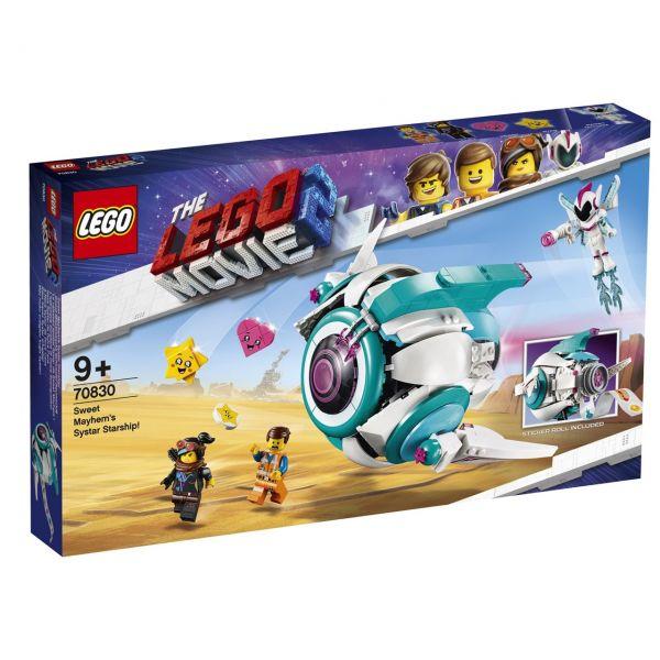LEGO 70830 - The Lego Movie 2 - Sweet Mischmaschs Systar Raumschiff