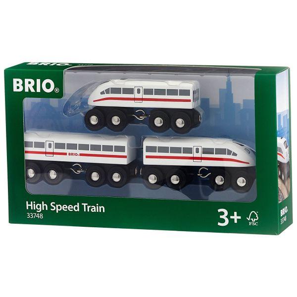BRIO 33748 - Bahn - Schnellzug mit Sound, 3teilig