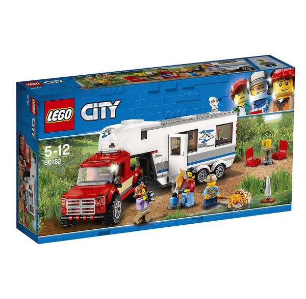 LEGO 60182 - City - Pickup & Wohnwagen