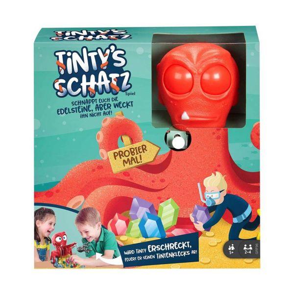 MATTEL GRF96 - Kinderspiel - Tinty's Schatz Spiel für Kinder ab 5 Jahren