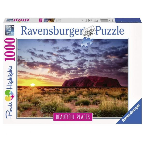 RAVENSBURGER 15155 - Puzzle - Ayers Rock in Australien, 1000 Teile