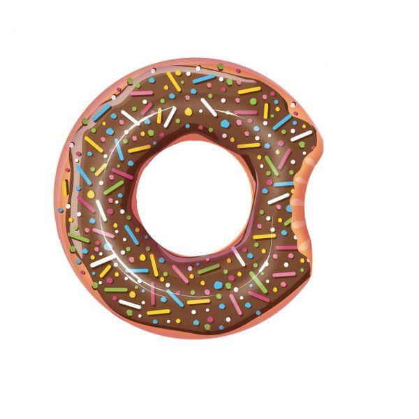 BESTWAY 36118 - Schwimmring Donut Ø 107cm, braun