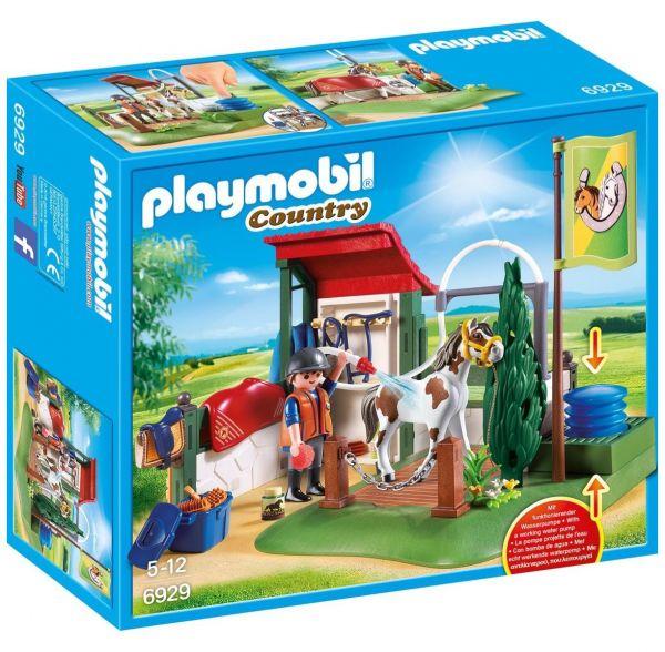 PLAYMOBIL 6929 - Country Reiterhof - Pferde-Waschplatz