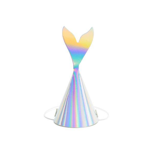 PD CPP19-017 - Mermaid Party - Partyhütchen, ca 18 cm, 6St