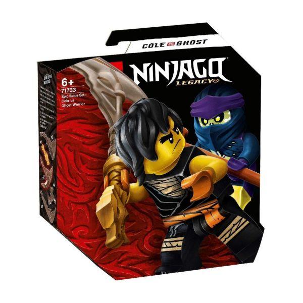 LEGO 71733 - Ninjago® - Battle Set - Cole vs Geisterkämpfer