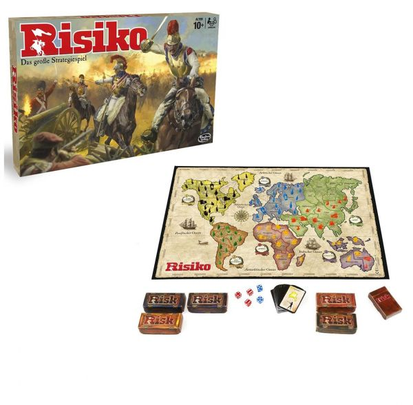 HASBRO B7404100 - Strategiespiel - Risiko - Edition 2016