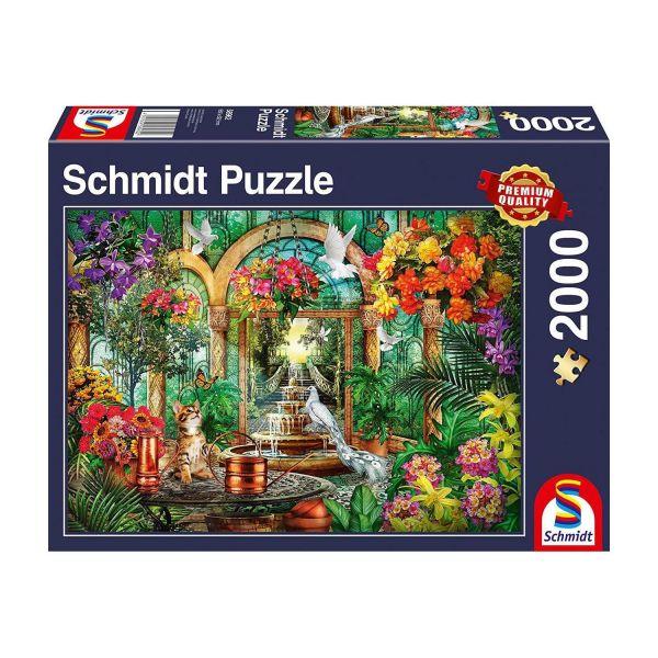 SCHMIDT 58962 - Puzzle - Atrium, 2000 Teile