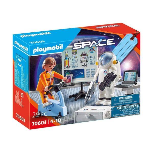 "PLAYMOBIL 70603 - Space - Geschenkset ""Astronautentraining"""