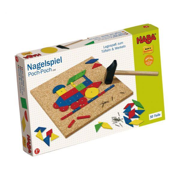 HABA 2300 - Nagelspiel - Poch Poch