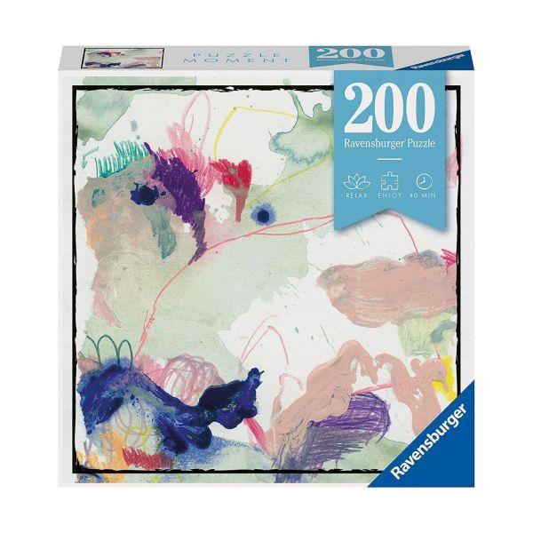 RAVENSBURGER 12958 - Erwachsenenpuzzle - Colorsplash Farbkleckse, 200 Teile