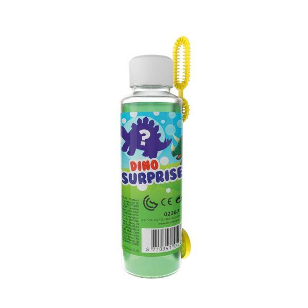 SES 02267 - Gartenspielzeug - Mega Bubbles mit Dino Überraschung, 1 Stk.