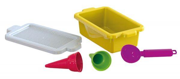 Lena 05428 - Sandspielzeug - Eisboxset, 5-teilig