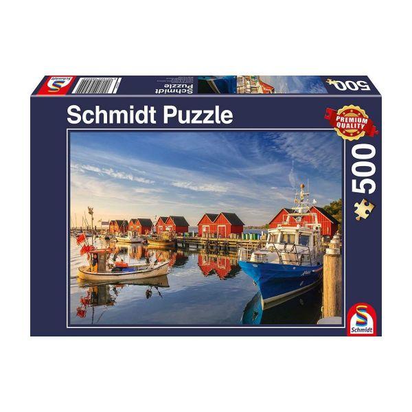 SCHMIDT 58955 - Puzzle - Fischereihafen Weiße Wiek, 500 Teile
