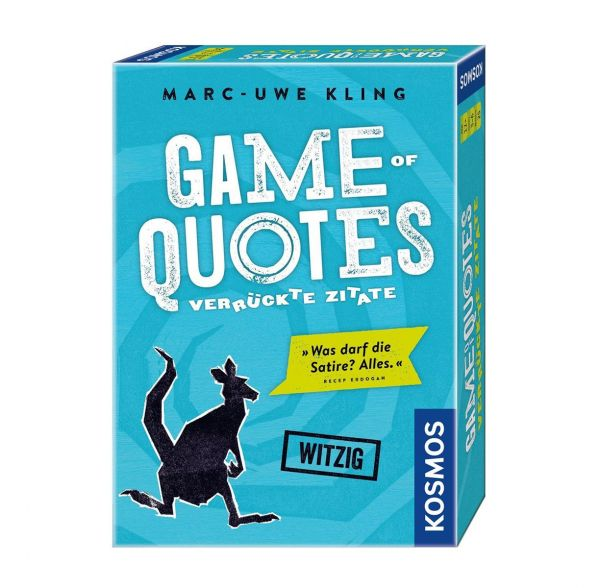 KOSMOS 692926 - Familienspiel - Game of Quotes