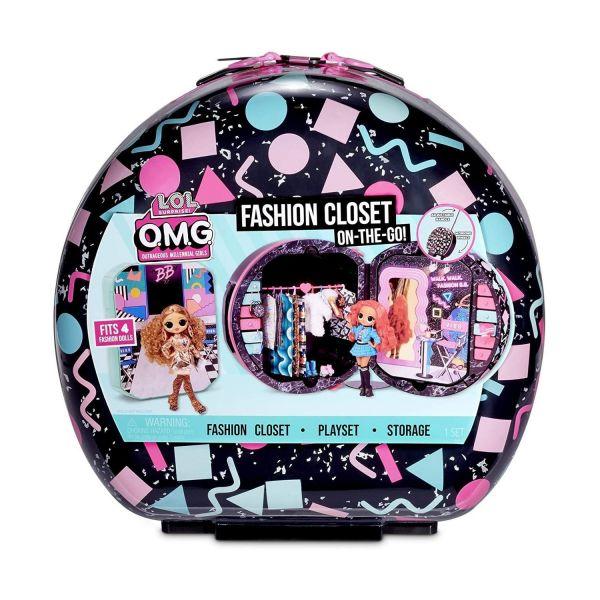 MGA 571315E7C - L.O.L. Surprise O.M.G. - Fashion Closet On The Go Reisetrolley