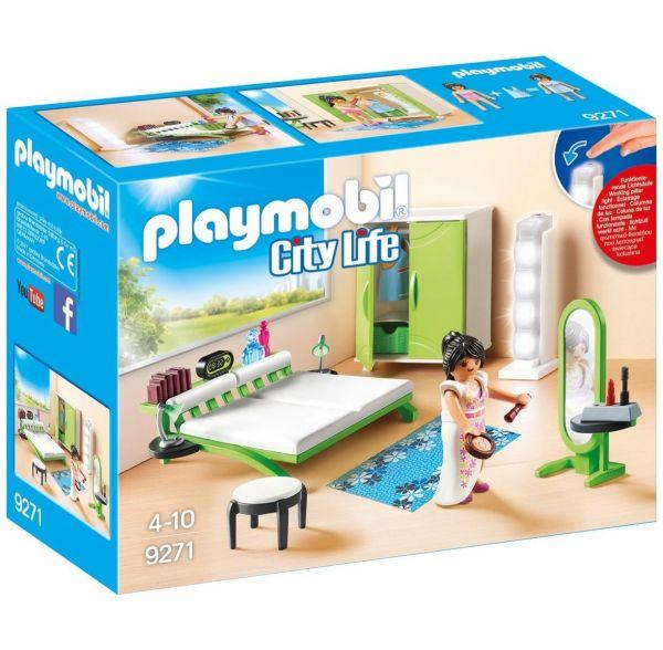 PLAYMOBIL 9271 - City Life Wohnhaus - Schlafzimmer