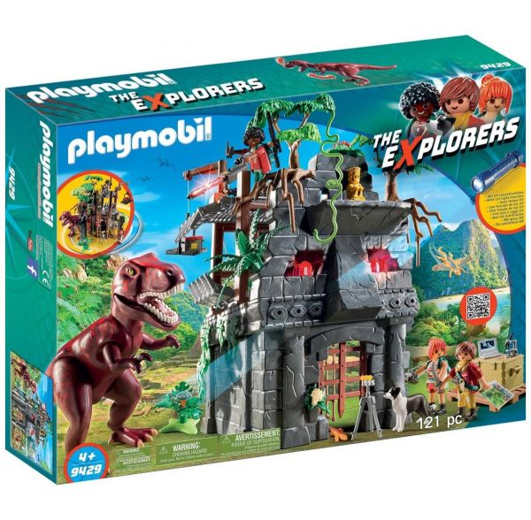 PLAYMOBIL 9429 - The Explorers - Basecamp mit T-Rex